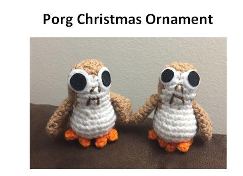 Porg pattern cover image