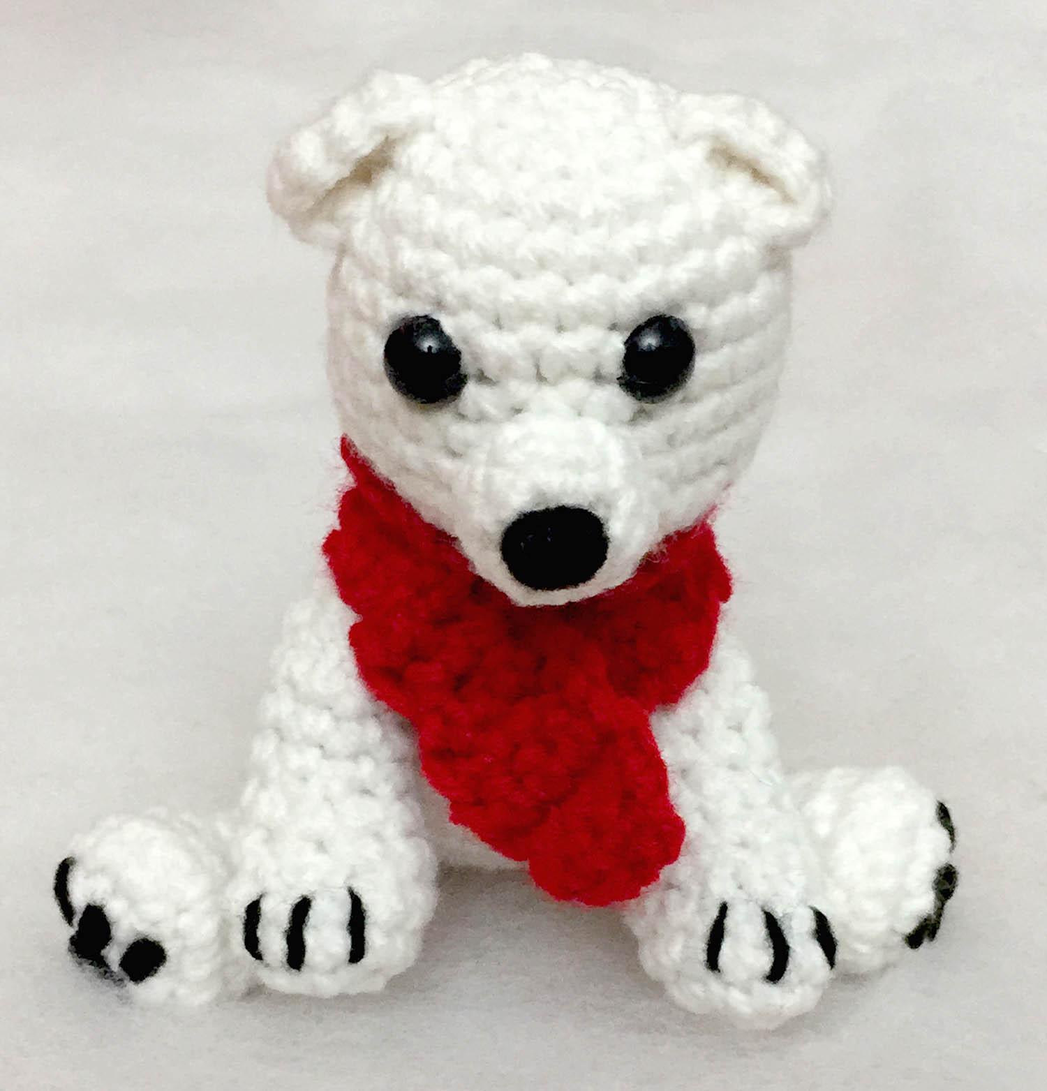 Peyton the Polar Bear (Free Amigurumi Crochet Pattern) - Sweet ... | 1563x1500