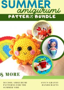 Summer Amigurumi Pattern Bundle
