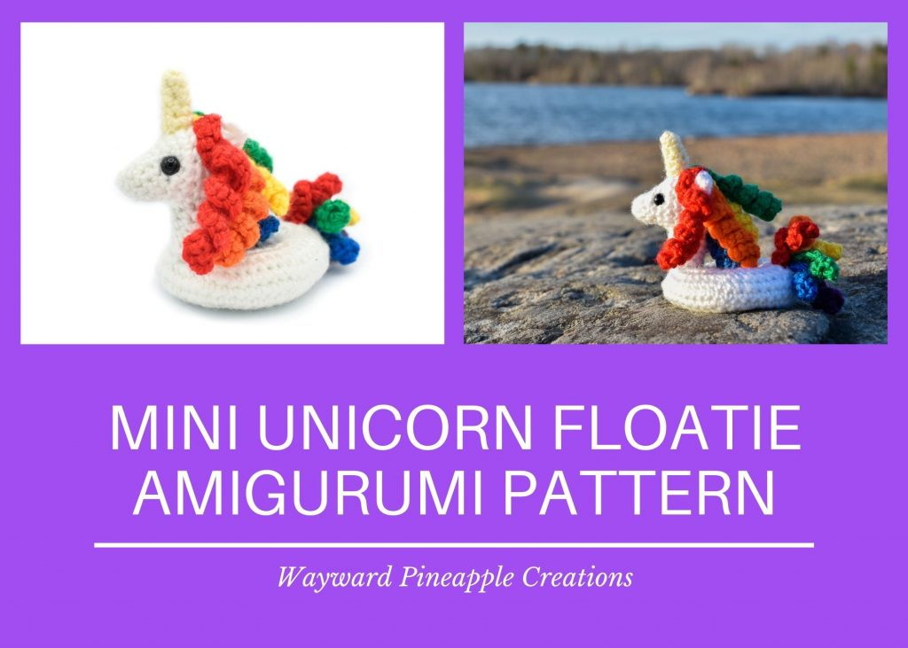Title: Mini Unicorn Floatie Amigurumi Pattern