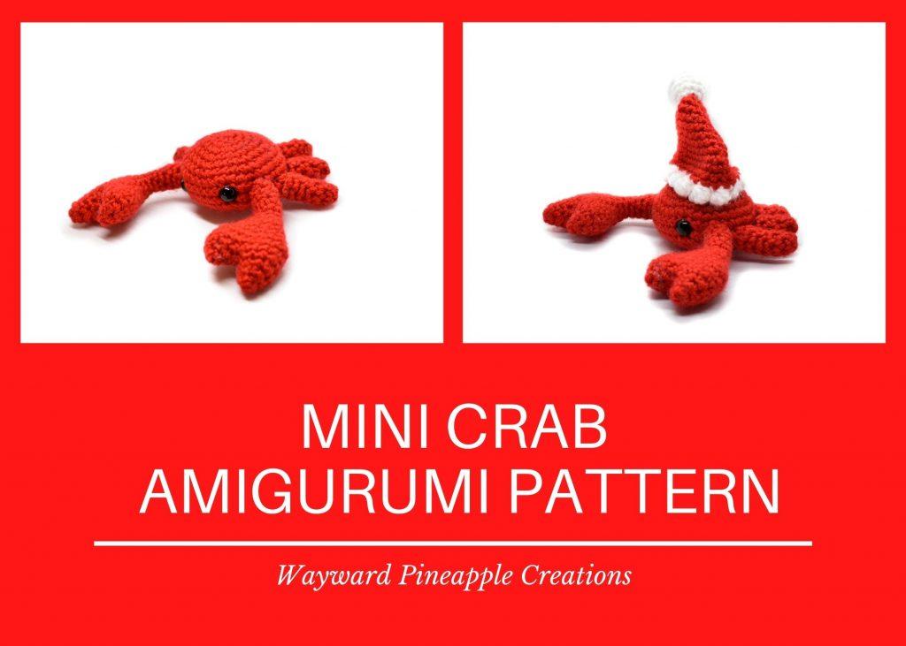 Title: Mini Crab Amigurumi Pattern