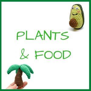 Plants & Food Crochet Patterns